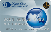 Cash on card Diners